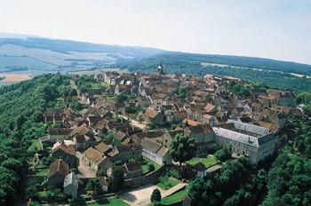 Village de Flavigny-sur-Ozerain - ADT21©P. GILLET