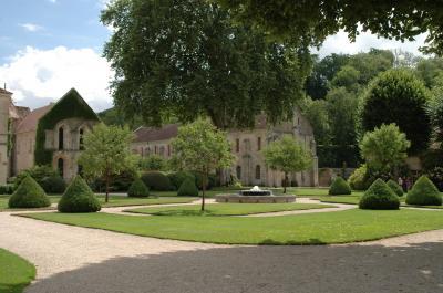 Jardins de l''Abbaye de Fontenay - CÔTE-D''OR TOURISME©R. KREBEL
