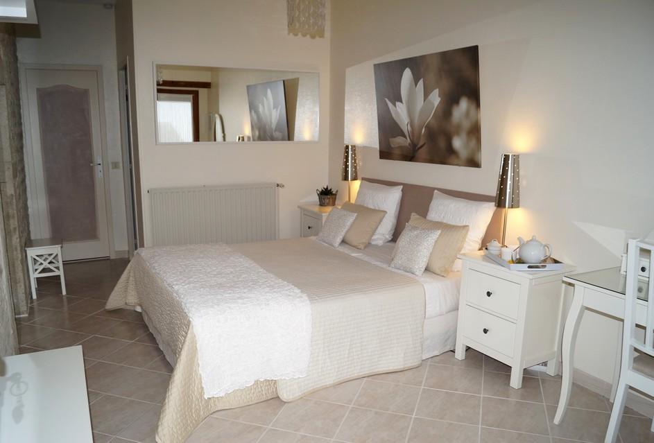 Chambre Soprano conçue pour acceuillir 2 personnes - Chambres d''hôtes Edenswing © IB