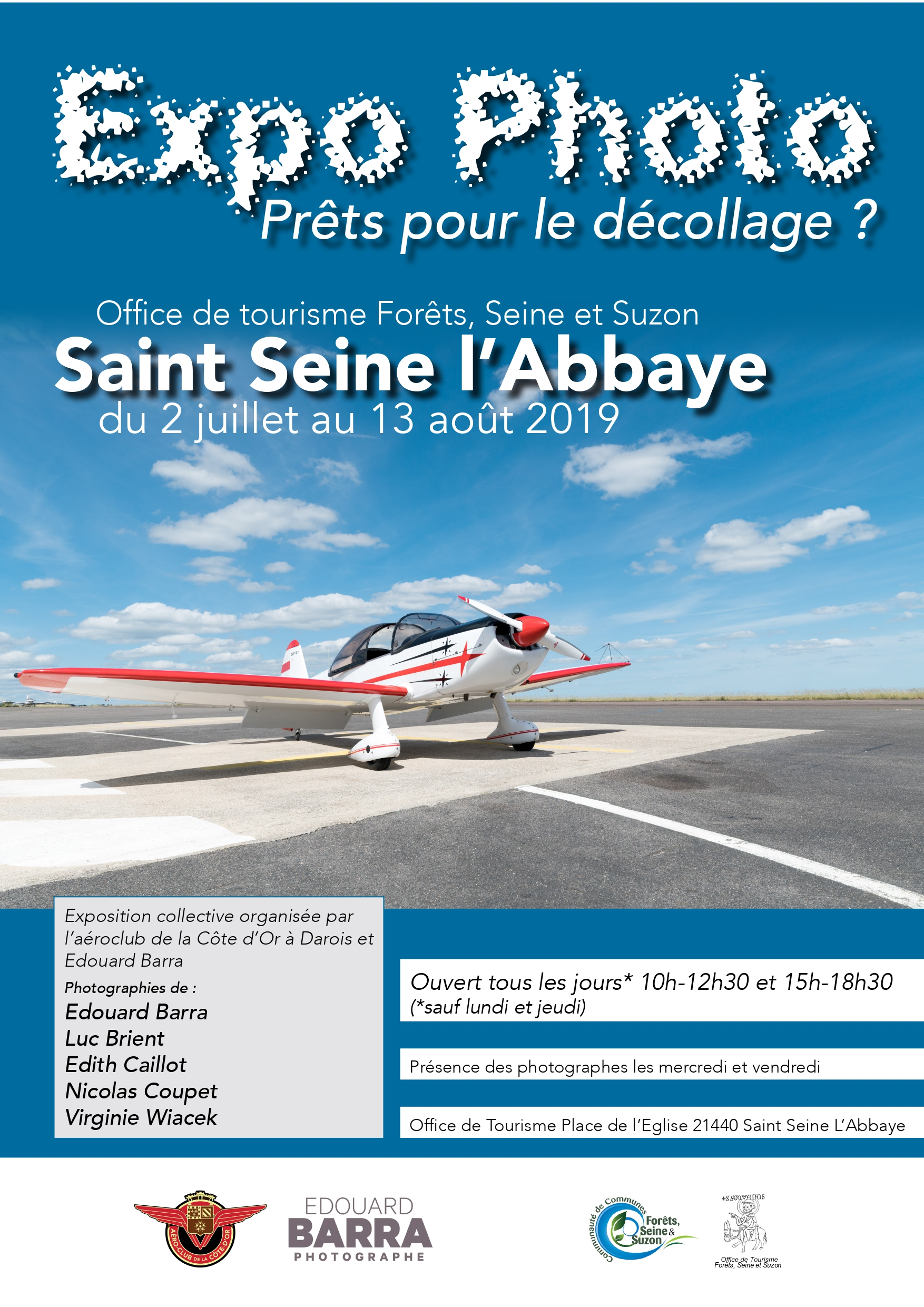 Affiche-expo-photo-Aeroclub - Edouard Barra