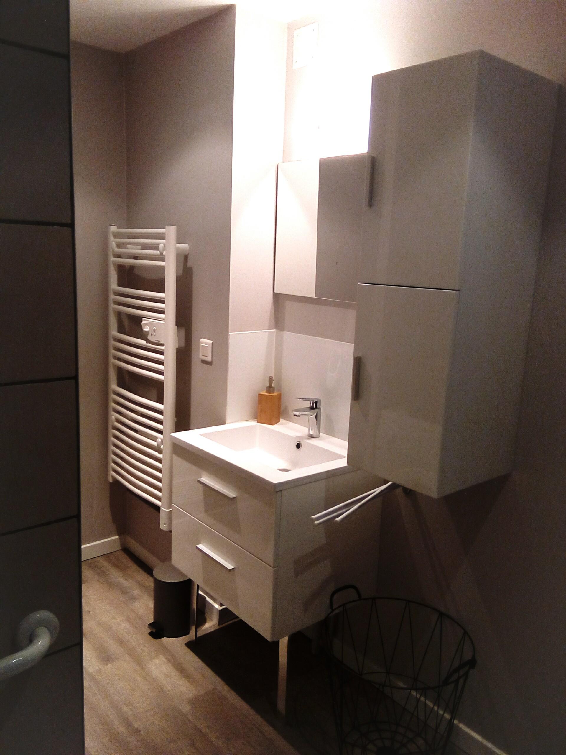 Salle de douche - A.Brun