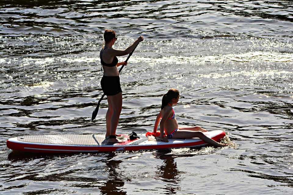 Soirée paddle