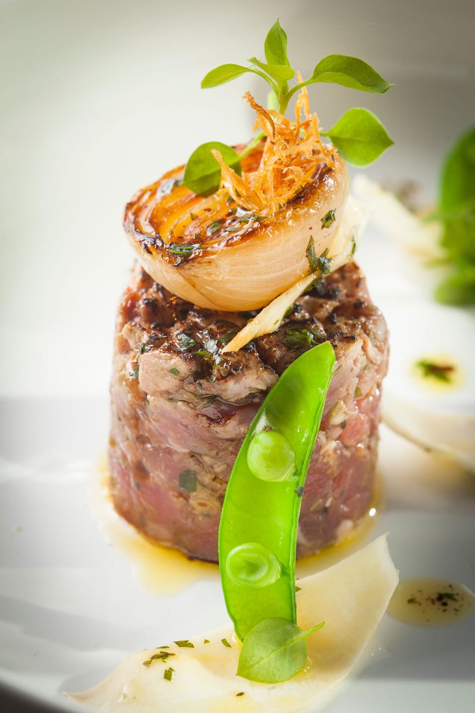 Tartare de veau - © Arnaud Dauphin pour Arts & Gastronomie