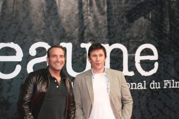 Festival 2009 - Jean Dujardin et Michel Hazanavicius - AGENCE EVÈNEMENTIELLE©VILLE DE BEAUNE