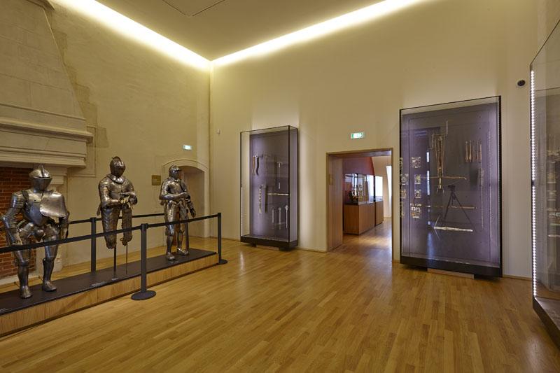 salle 11 armes et armures © MUSÉE DES BEAUX-ARTS DE DIJON©FRANÇOIS  JAY