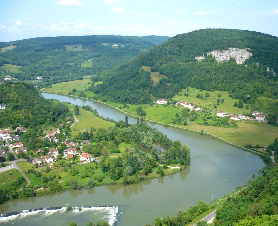 La vallée du Doubs