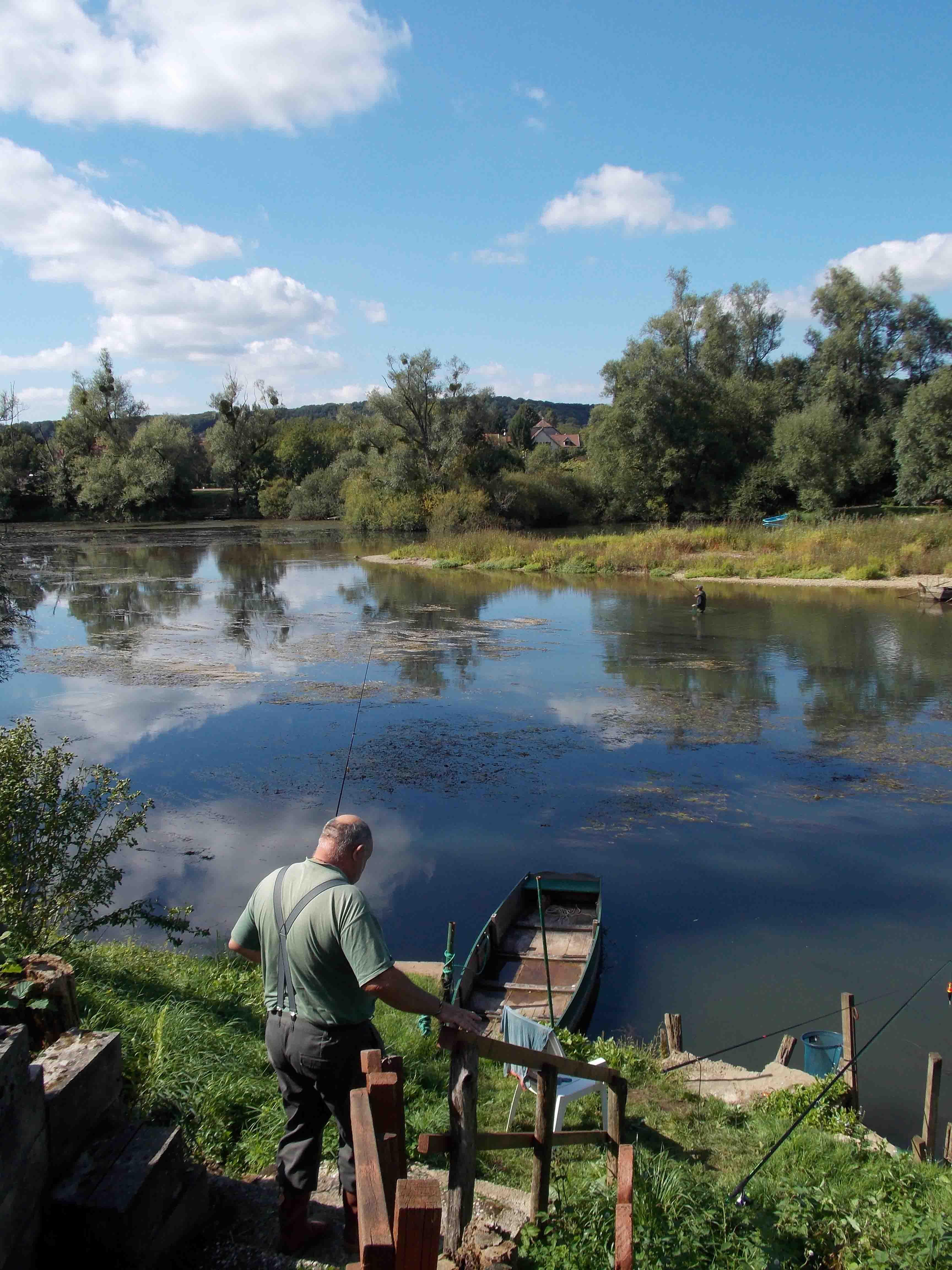 Pêche en rivières et au lac de la Faïencerie