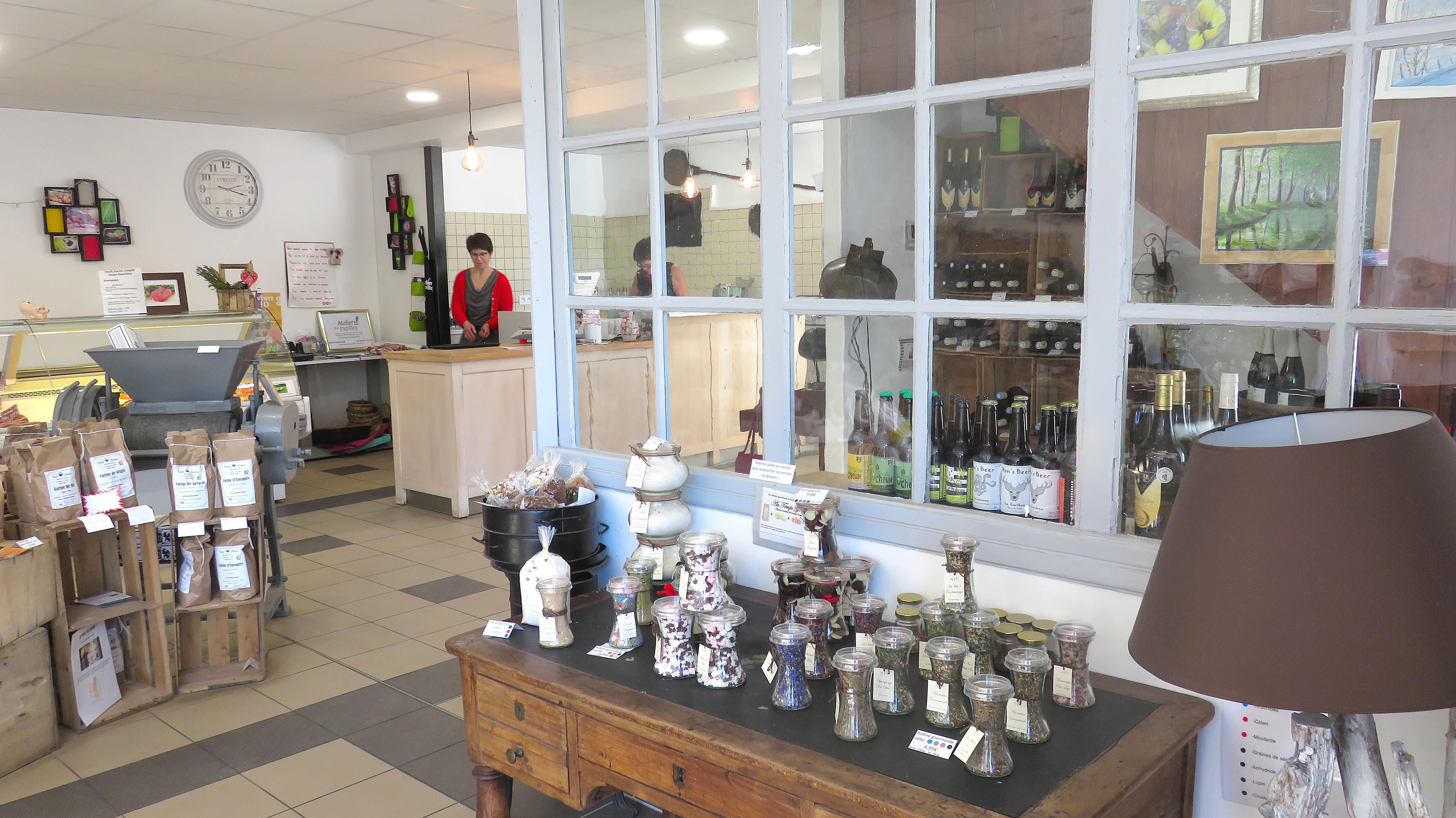 L'Atelier des Papilles à Montbozon - magasin de produits locaux