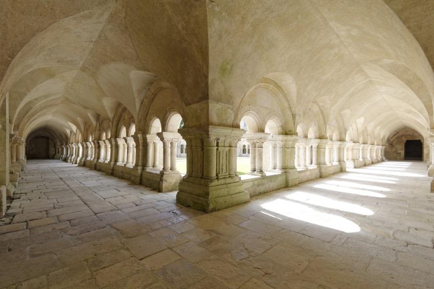 Cloître Abbaye de Fontenay - Abbaye de Fontenay © Frédéric Dupin
