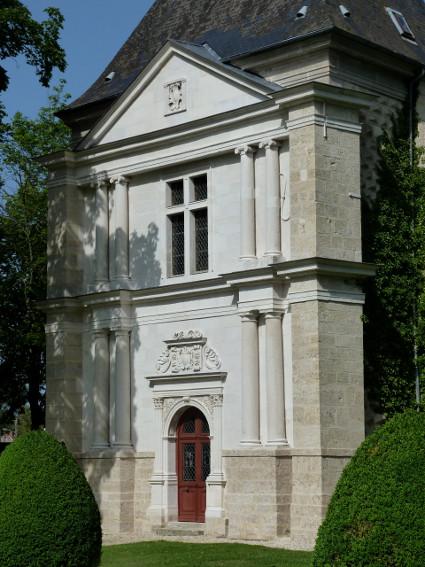 Façade de la chapelle - Château de Montigny-sur-Aube © Château de Montigny-sur-Aube