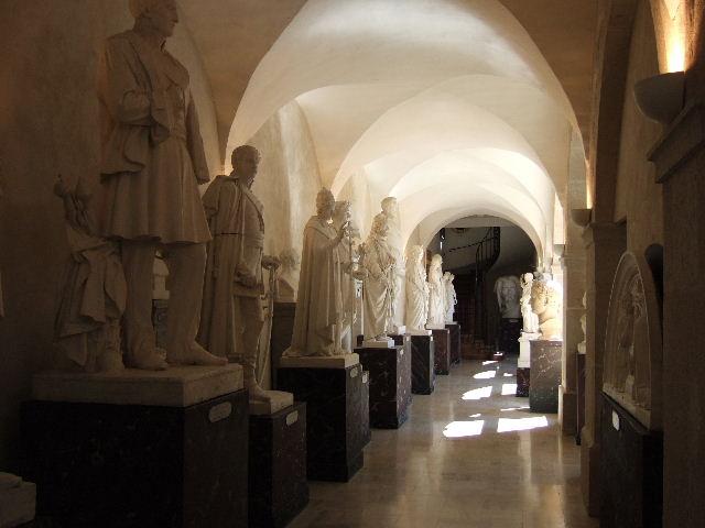 Vue de la Galerie des plâtres, Musée de Semur-en-Auxois - Musée Municipal © Musée de Semur-en-Auxois