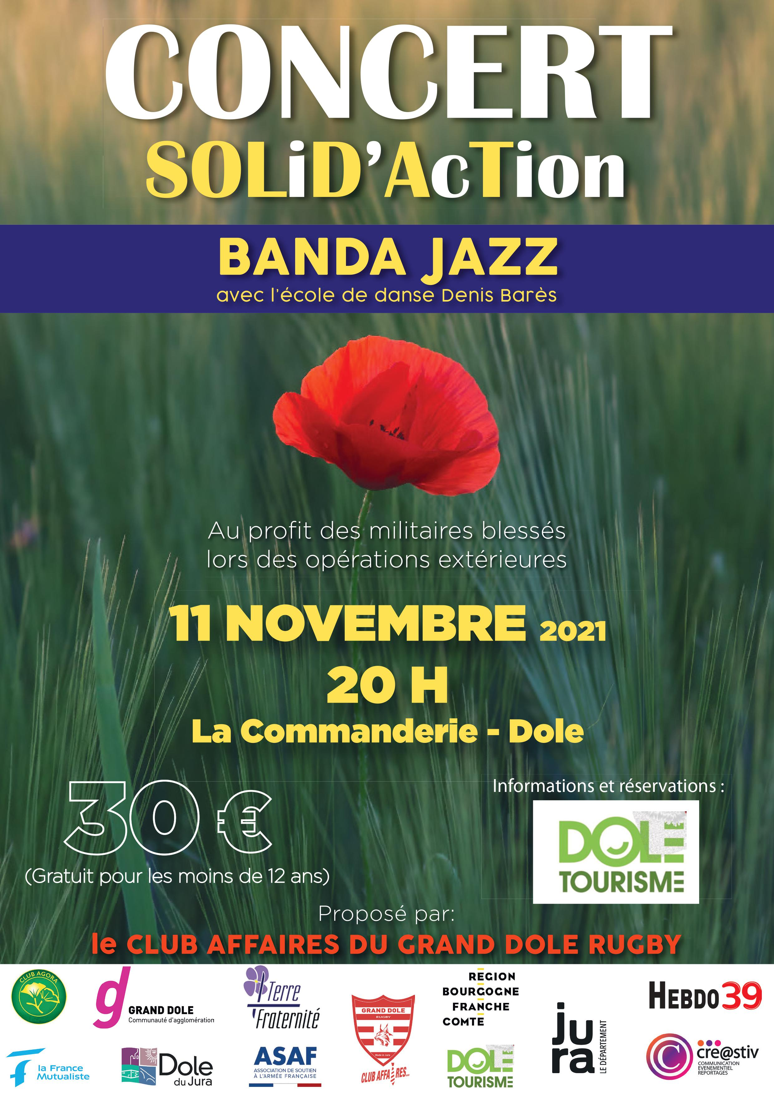 Concert Solid'Action - Banda Jazz