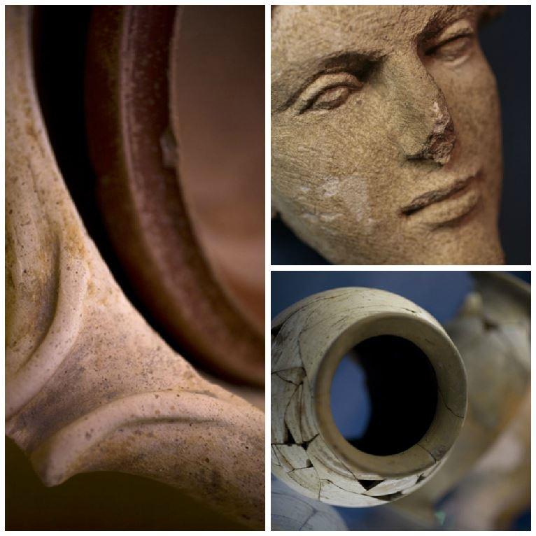 Collections archéologiques (détails) - Armelle