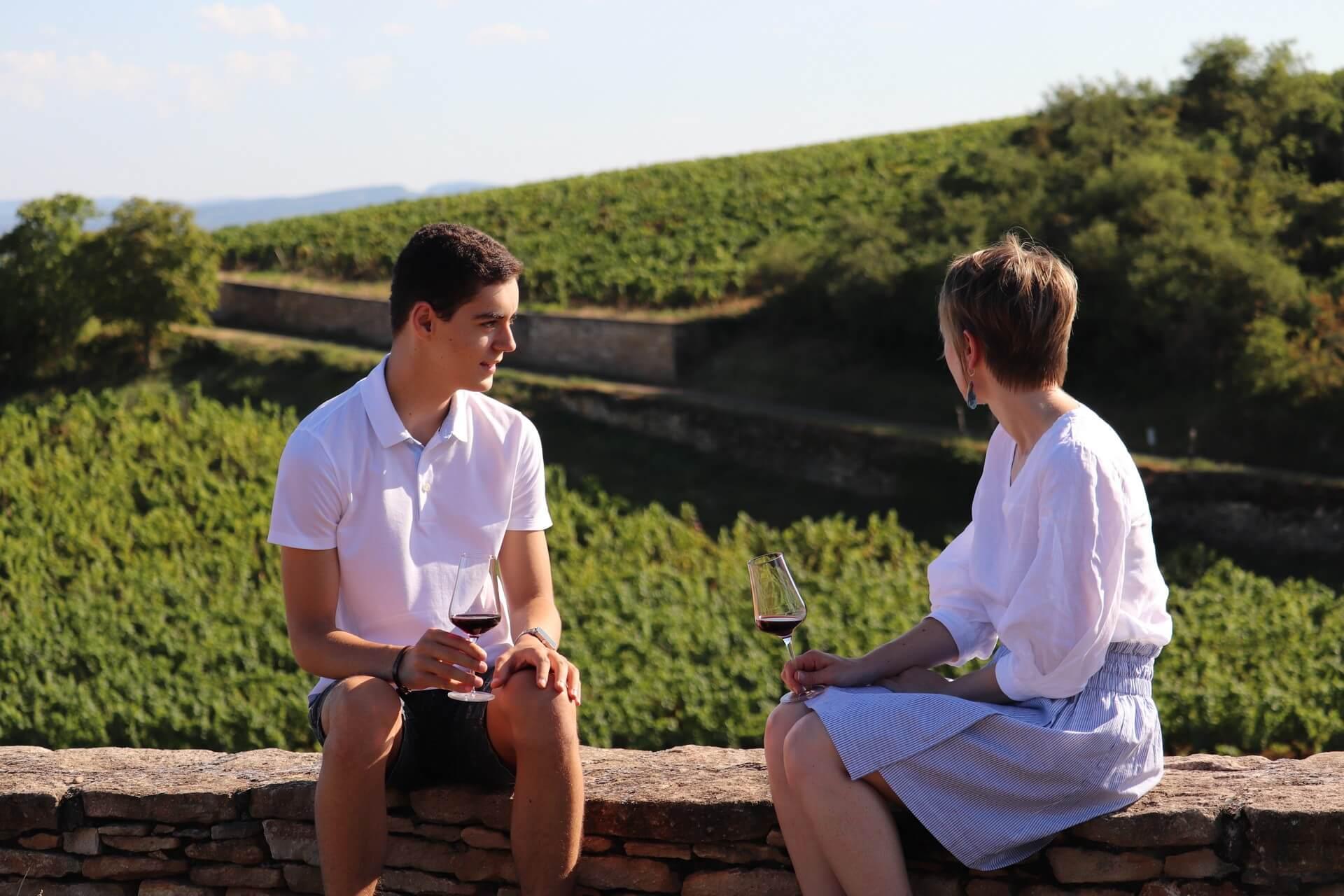 Sensation Vin propose des wine tours avec dégustation dans les vignes - Sensation Vin © Sensation Vin