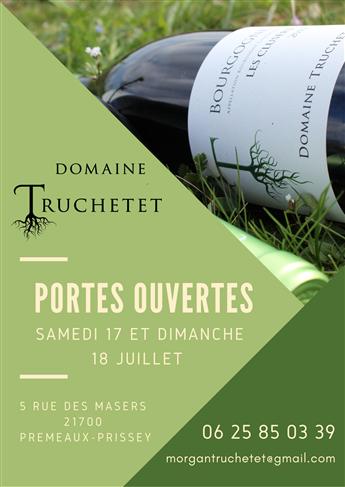 Portes Ouvertes - Domaine TRUCHETET