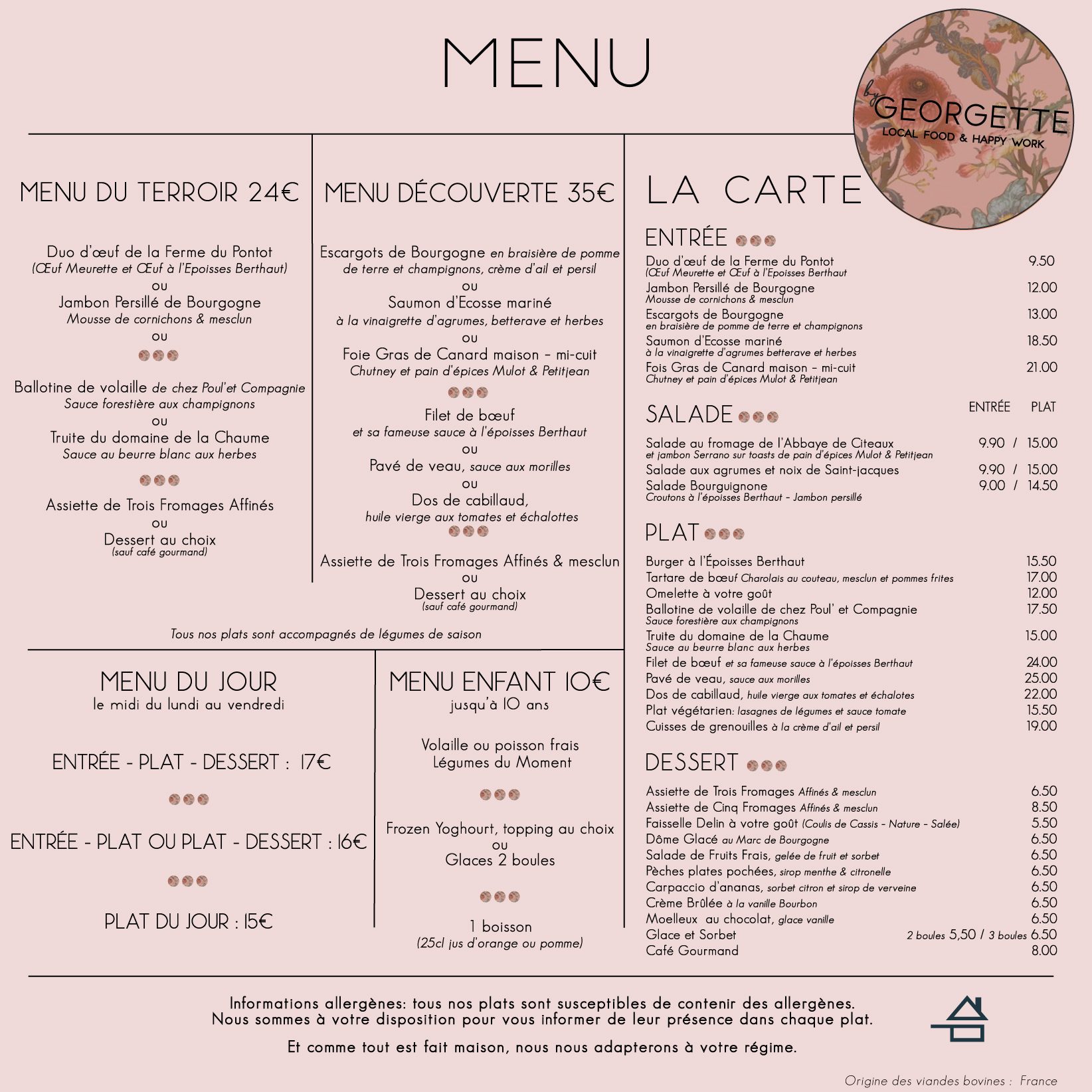 MENU-6 - by georgette